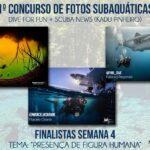 Anunciados os ganhadores do concurso de fotosub Dive for Fun e Scuba News