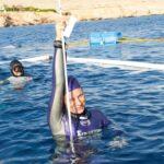 Eslovena Alenka Artnik quebra recorde mundial de mergulho livre